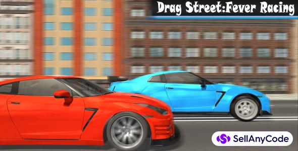 Racing game :Drag StreetFever Racing. Car city real racing. Hot racing game