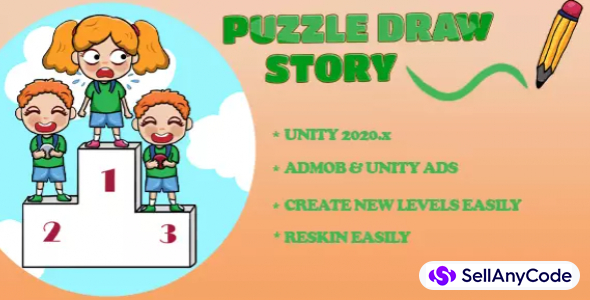 Draw Puzzle Story – Draw One Part