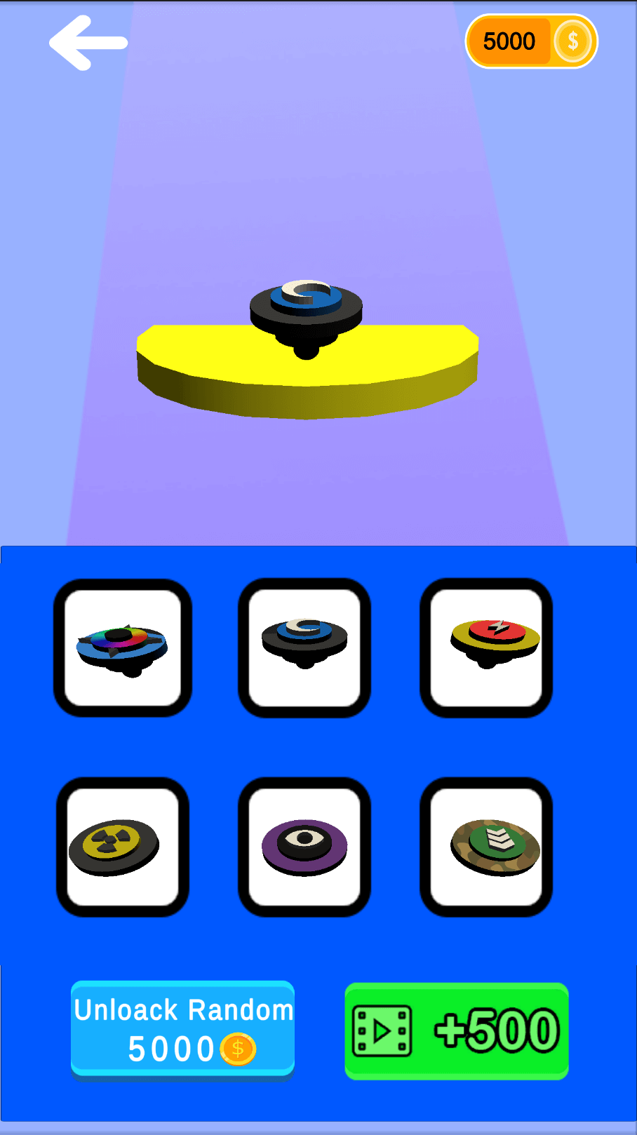 Draw Spinning — Top Trending Casual Games