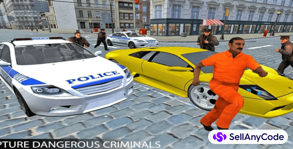 Drive Police Car Gangsters Chase