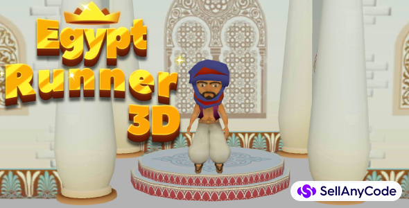 Egypt Runner 3D Game