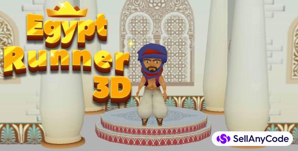 Egypt Runner 3D Game