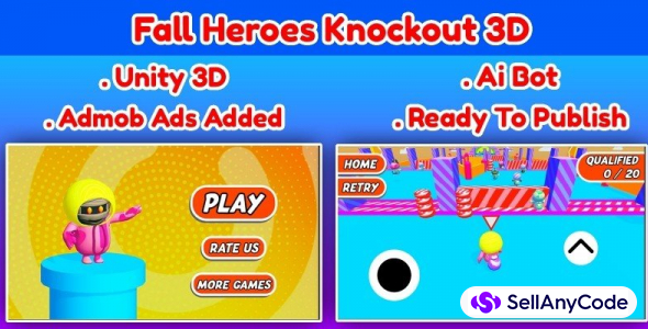 Fall Guys Ultimate Knockout 3D
