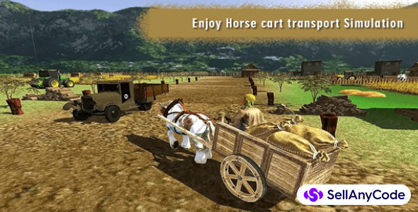 Farm Tractor Simulator : Village Farming 3D