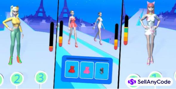 Fashion Walk — Unity Game