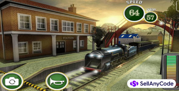 Fast Euro Train Driver Sim: Train Games 3D