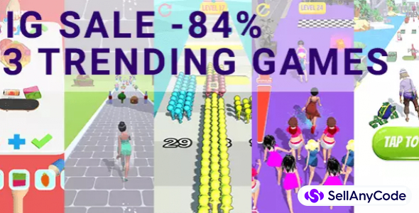 Flexy Gam's EXCLUSIVE Summer Bundle: 13 TOP Trending Games