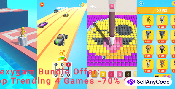 Flexy Gam's Exclusive Bundle Offer: 4 Top Trending Games