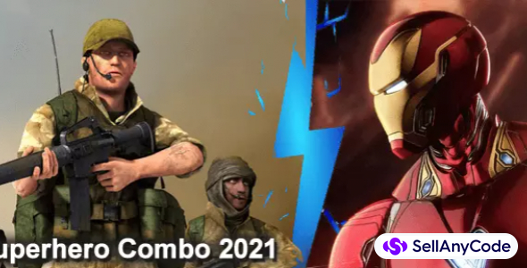 Flying Superhero COMBO 2021: 3 Top Projects