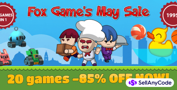 Fox Game's May Sale Bundle Offer: 20 Top Trending Games