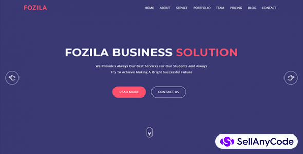 Fozila Digital Corporate HTML5 Template