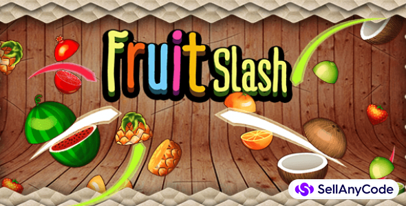 Fruit Slash complete game + 3D Classic Game Support Unity 2019