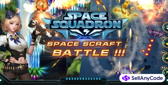 Galaxy Shooter – Skyforce game template – Sky force 2018 – space squadron