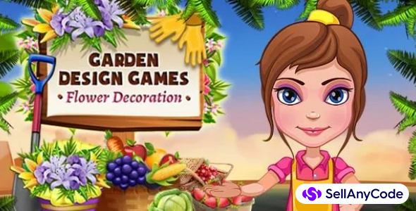 Garden Design Games – Flower Decoration