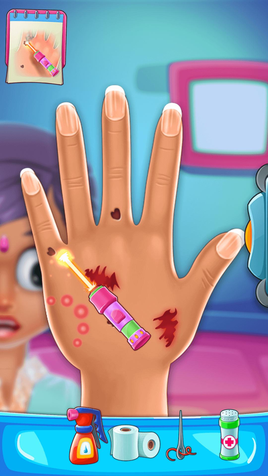Hand Doctor Hospital Games