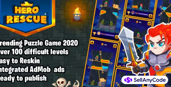 Hero Rescue 2 Trending Puzzle Game 2020
