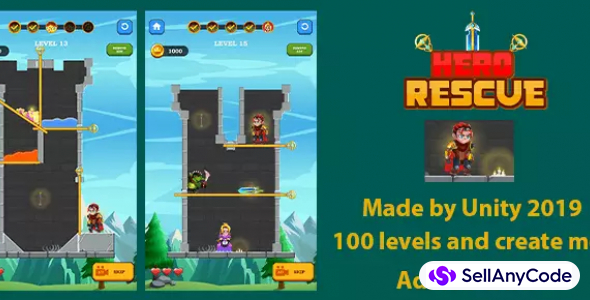 Hero Rescue – Adventure Puzzle Game