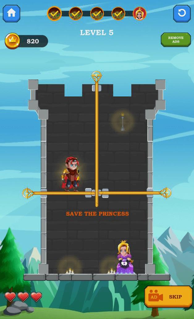 Hero Rescue – Adventure Puzzle Game