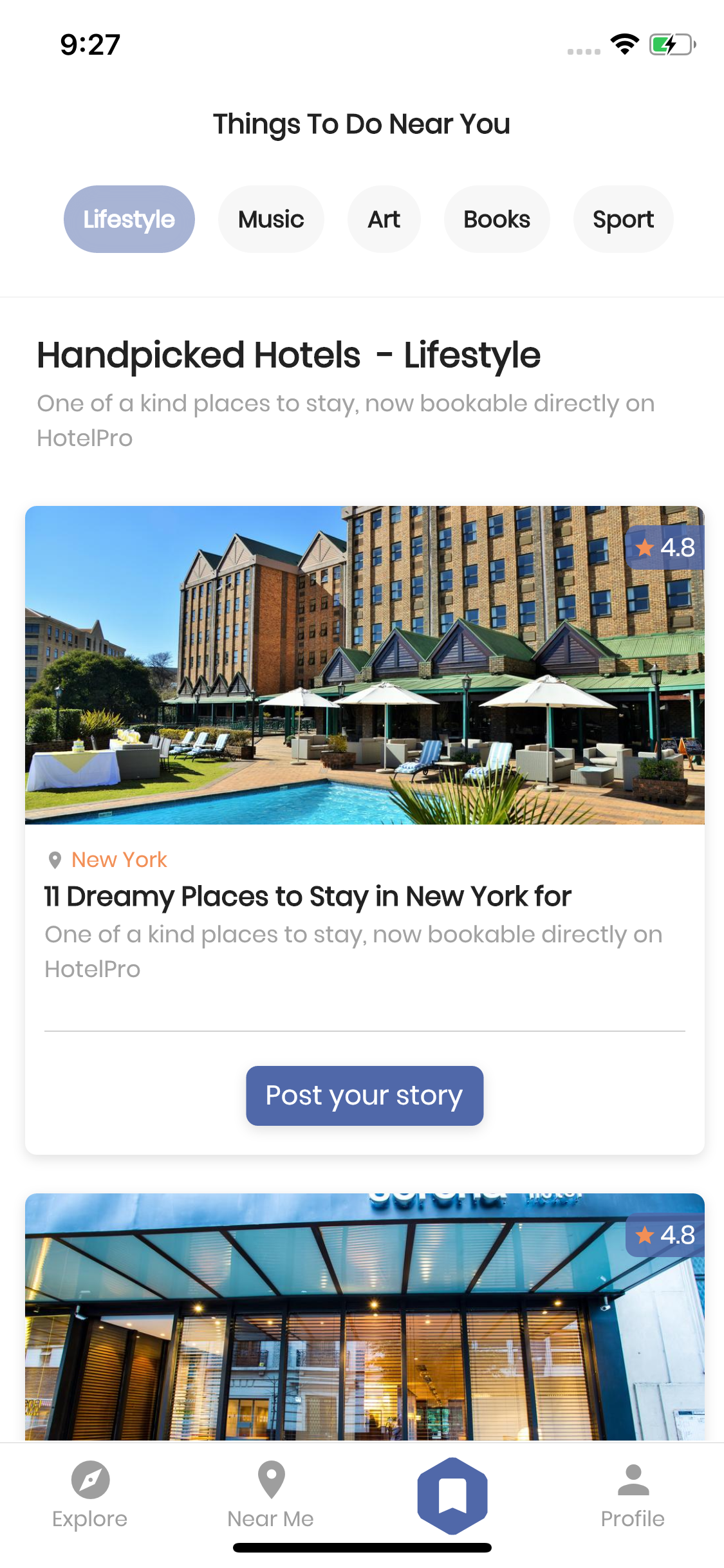 HotelPro - Flutter Template UI Kit