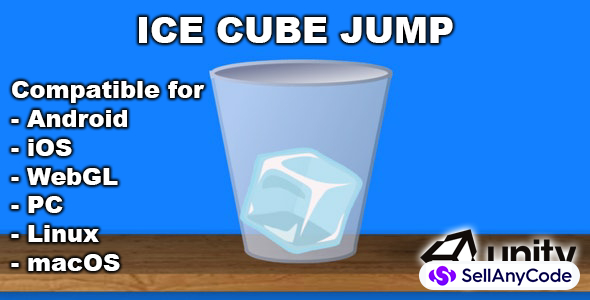 Ice Cube Jump - Hyper Casual Game
