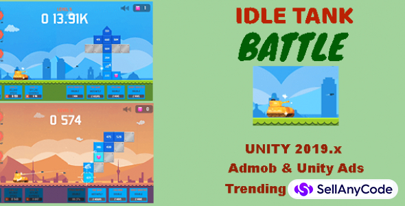 Idle Tank Battle