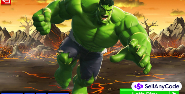 Incredible Hulk (Super Hero) : Fight In City (64-Bit)