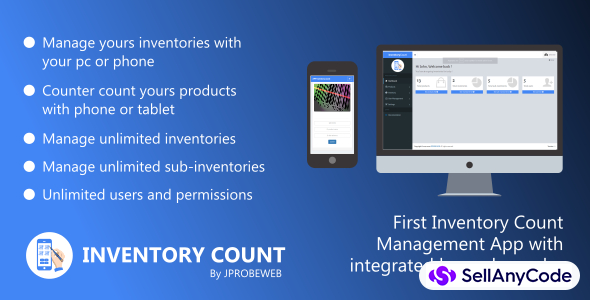 InventoryCount - Complete Physical Inventory Count Management System