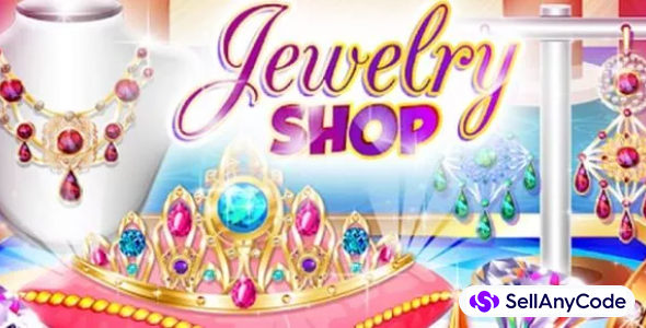 Jewelry Shop Games: Princess Design