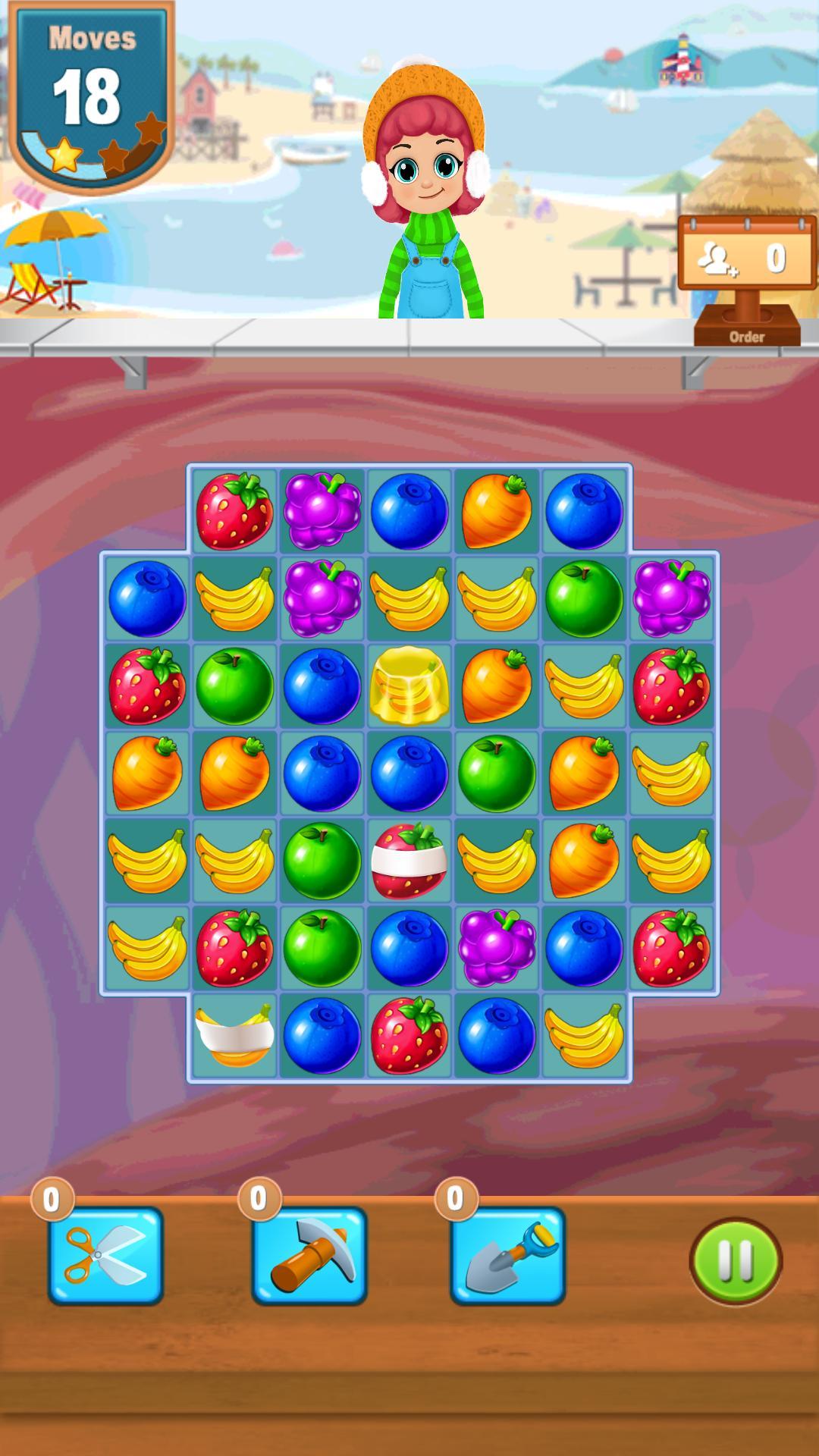 Juice Jam Clone - Unity Game