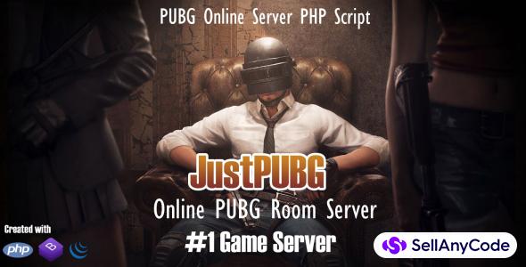 JustPUBG - Online PUBG Server PHP Script