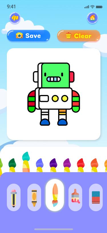 Kids Draws - React Native App