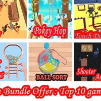 Kioo Games Mega Bundle Offer: Top Trending 10 Games