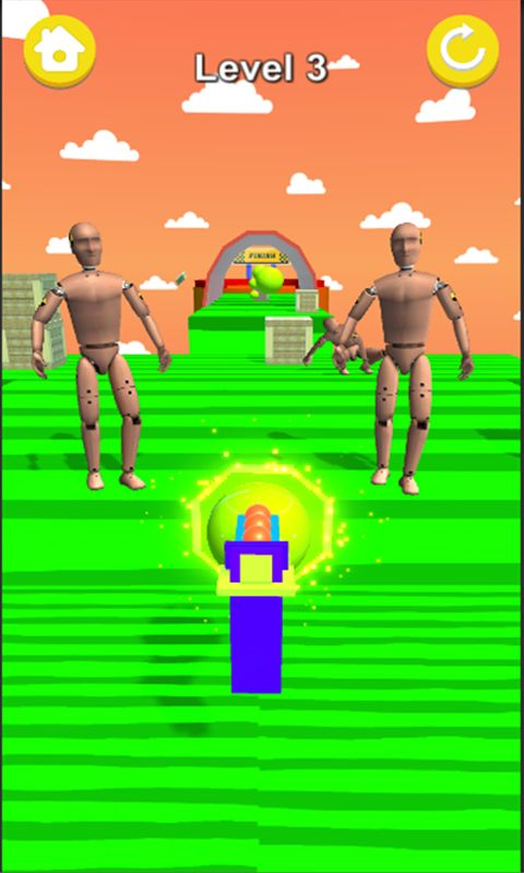 Knock For All 3D Game