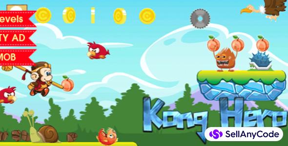 Kong Hero – Platformer Complete Unity Game Template