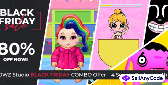 LOOWZ Studio s Black Friday COMBO Offer 4 Source Codes 80 OFF NOW