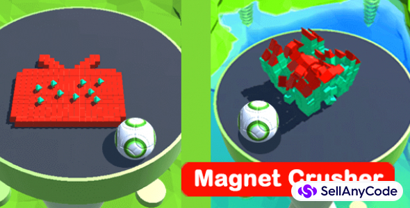 Magnet Crusher – Trending Hyper Casual Game