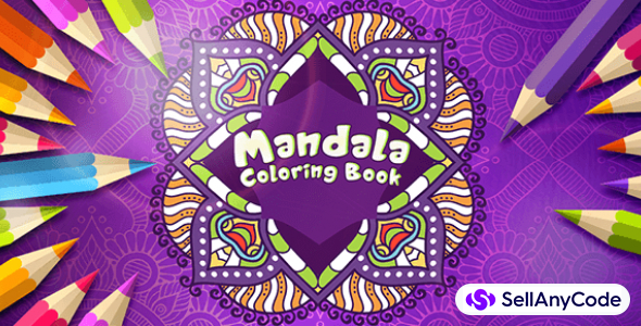 Mandala Coloring Book Game