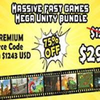 Massive Fast Games Mega Unity Bundle : 7 Premium Source Codes