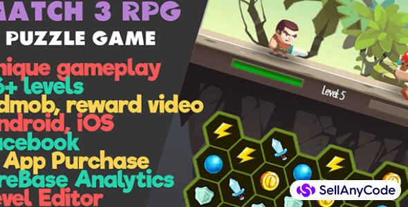 Match 3 RPG Puzzle Game