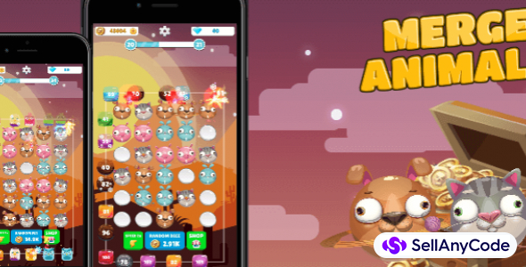 Merge Animals Tower Defense – original casual game