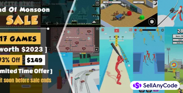 MicroSpider Studio's End of Monsoon Sale Offer: TOP 17 Games