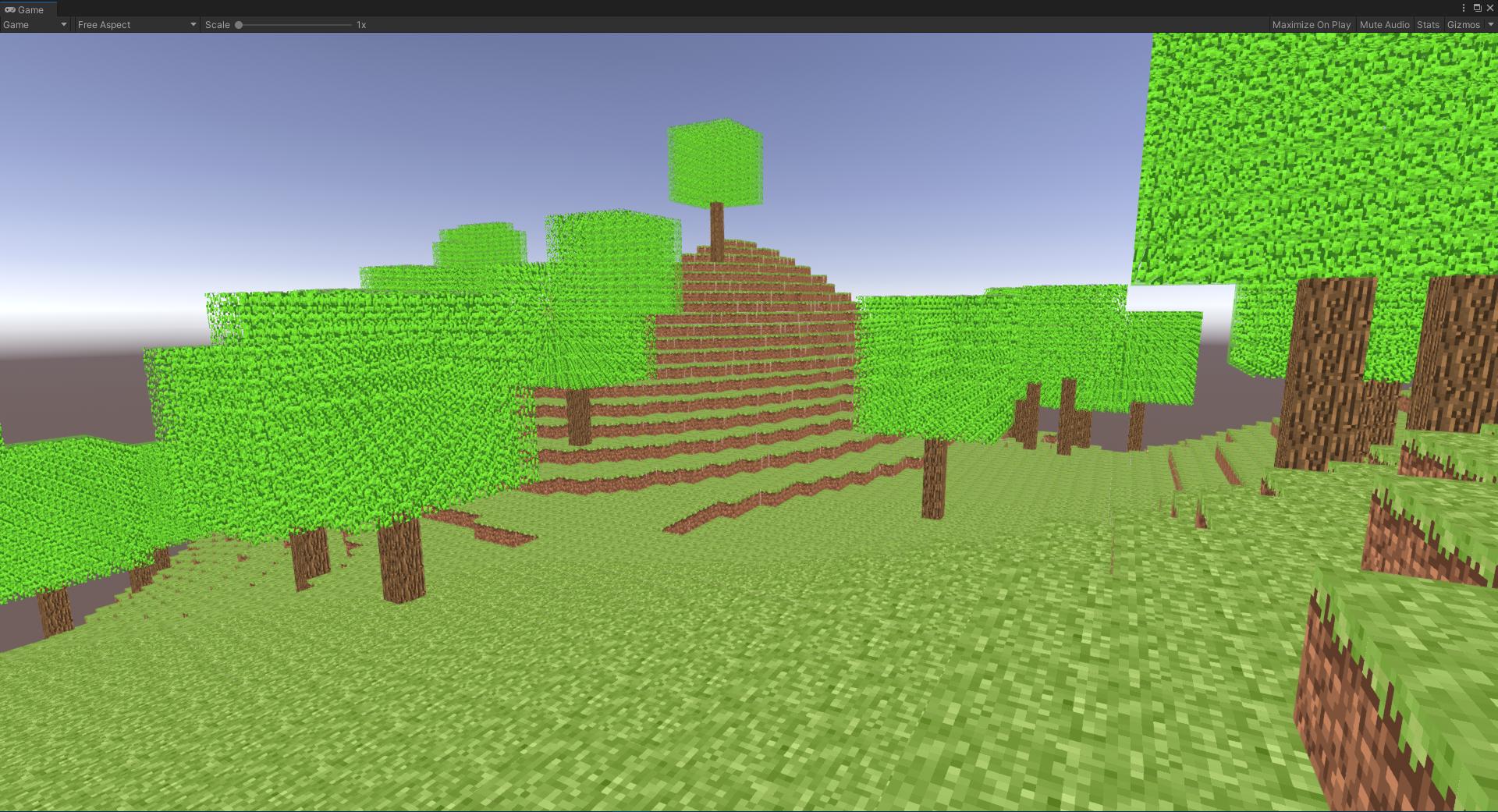 Minecraft - Voxel Terrain Generator