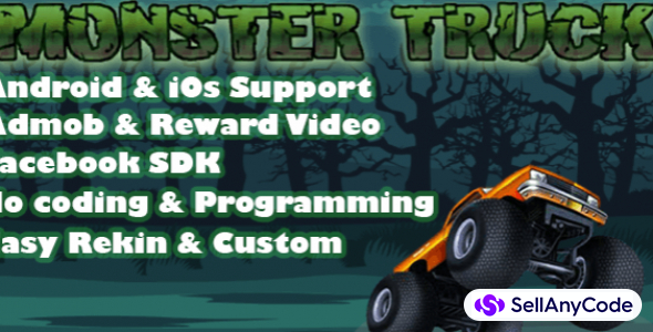 Monster Truck Vs Zombies Complete Project