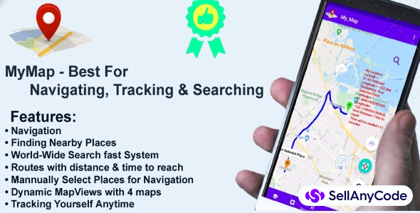 My Map - Best for Navigating,Tracking and Searching