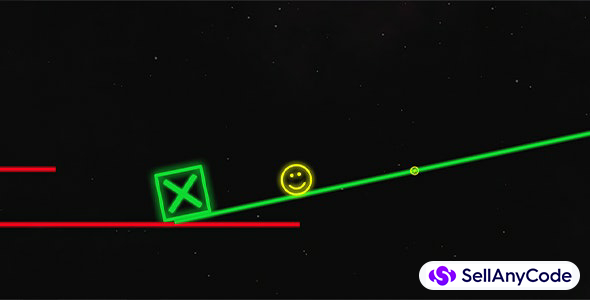 Neon Yellow Ball - Unity Source Code With AdMob