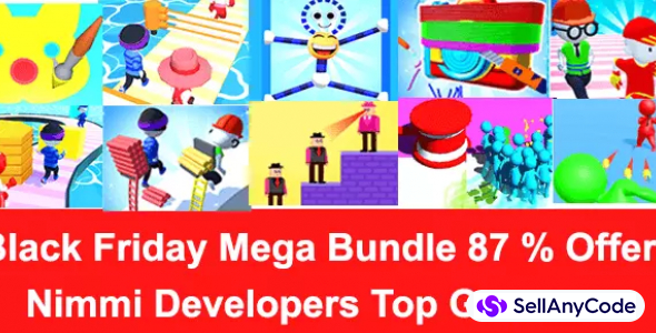 Nimmi Developers Black Friday MEGA Bundle Offer: TOP 10 Games