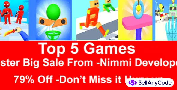 Nimmi Developers Easter Bundle Offer: Top 5 Trending Games -79% OFF NOW!