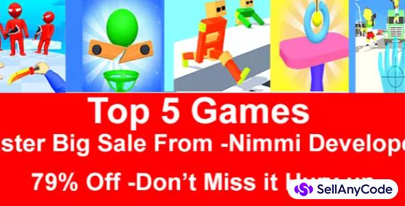 Nimmi Developers Easter Bundle Offer: Top 5 Trending Games -79% OFF NOW!