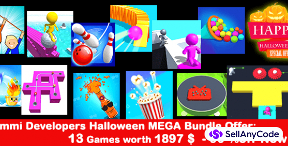 Nimmi Developers Halloween MEGA Bundle Offer: 13 Games