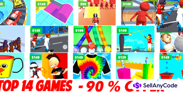 Nimmi Developers Mega Unity Bundle: 14 Games